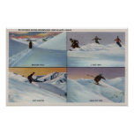 Sun Valley, ID - Ski Print