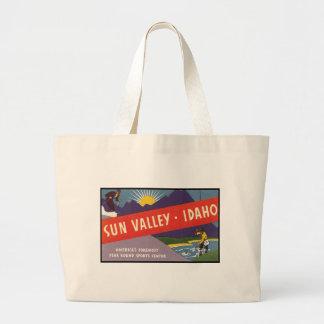 Sun Valley Idaho Bolsa Tela Grande