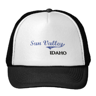 Sun Valley Idaho City Classic Trucker Hat