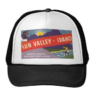 Sun Valley Idaho Trucker Hat