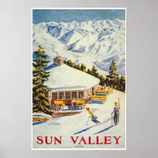 Sun Valley, Idaho, Ski Poster