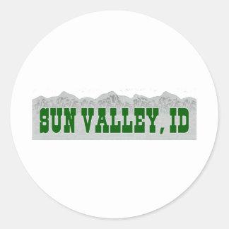 Sun Valley, Idaho Sticker