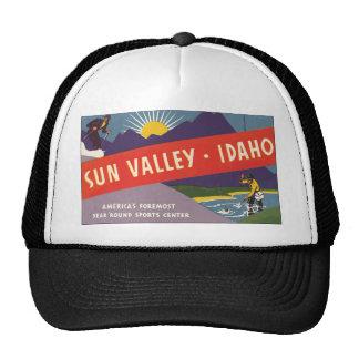 Sun Valley Idaho, Vintage Trucker Hat
