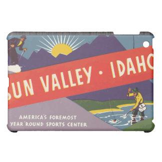 Sun Valley Idaho, Vintage Case For The iPad Mini