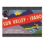 Sun Valley Idaho, Vintage Postcard