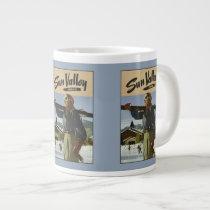 Sun Valley Idaho Vintage Travel Poster mugs