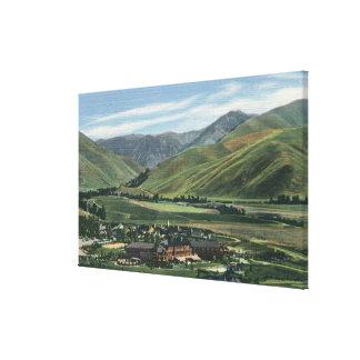Sun Valley, IDSummer Scene of Sun Valley Lodge Canvas Print