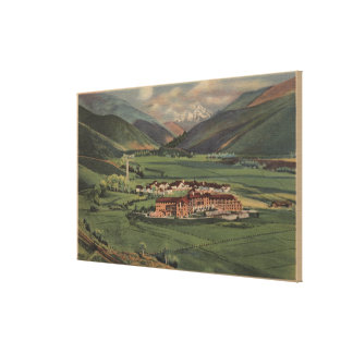 Sun Valley, IDView of Sun Valley Lodge Canvas Print