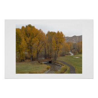 Sun Valley in the Fall Posters
