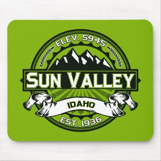 Sun Valley Logo Green Mouse Pad