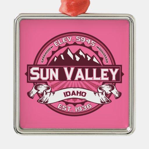 Sun Valley Logo Honeysuckle Christmas Tree Ornament