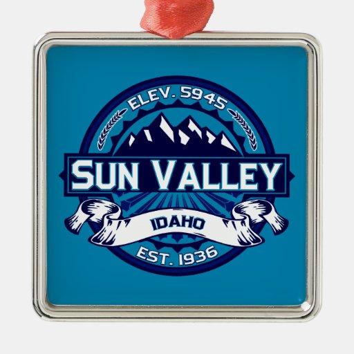 Sun Valley Logo Ice Christmas Ornament