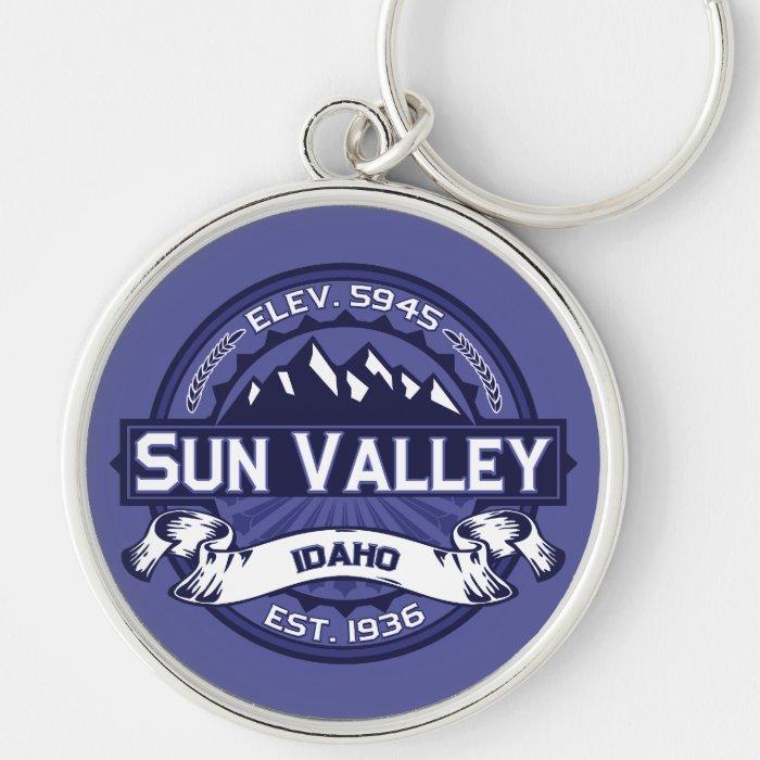 Sun Valley Logo Midnight Keychain
