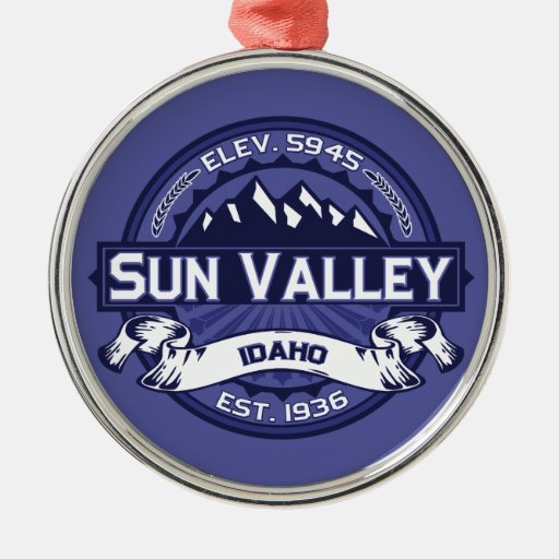 Sun Valley Logo Midnight Ornament