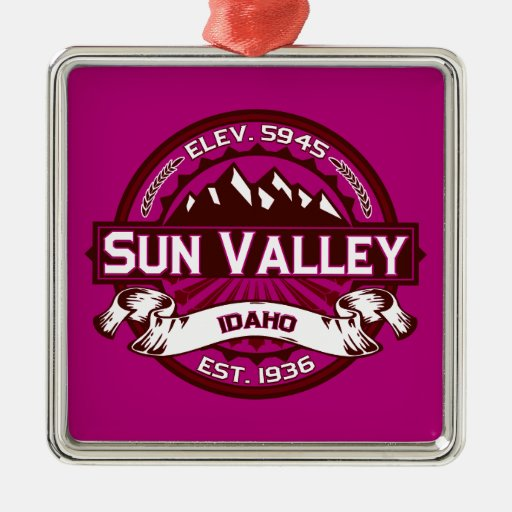Sun Valley Logo Raspberry Christmas Tree Ornament