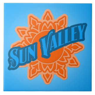 Sun Valley Logo Tile