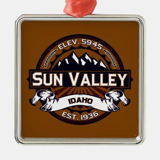 Sun Valley Logo Vibrant Christmas Ornaments