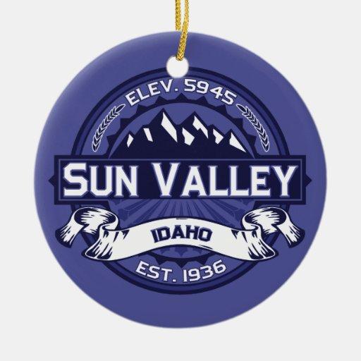 Sun Valley Midnight Christmas Tree Ornament