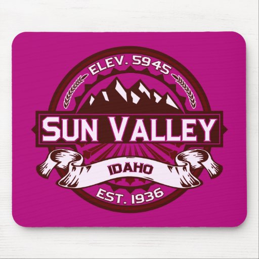 Sun Valley Mousepad Raspberry