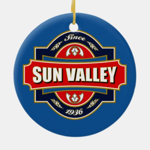 Sun Valley Old Label Christmas Ornaments