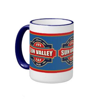 Sun Valley Old Label Ringer Mug