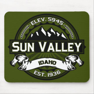 Sun Valley Olive Logo Mouse Pad