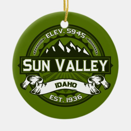 Sun Valley Olive Christmas Tree Ornaments