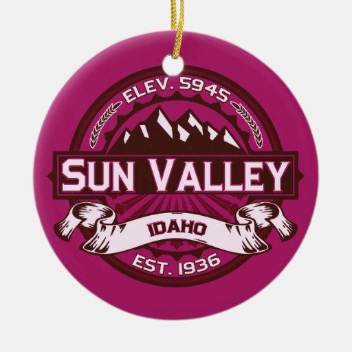 Sun Valley Raspberry Ornaments