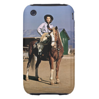 Sun Valley Sally Tough iPhone 3 Covers