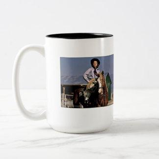 Sun Valley Sally Two-Tone Coffee Mug