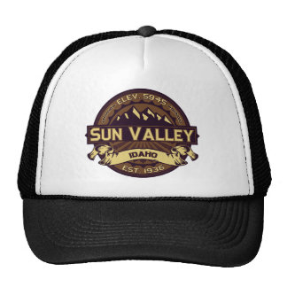 Sun Valley Sepia Trucker Hat