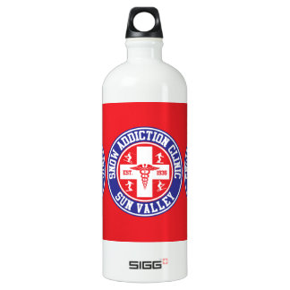 Sun Valley Snow Addiction Clinic SIGG Traveler 1.0L Water Bottle