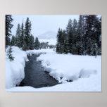 Sun Valley Snow Stream Print