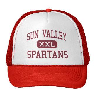 Sun Valley - Spartans - High - Monroe Hats