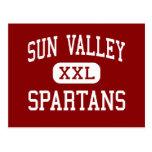 Sun Valley - Spartans - High - Monroe Postcard
