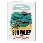 Sun Valley Summer Holiday Greeting Card