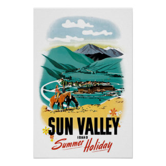 Sun Valley Summer Holiday Poster