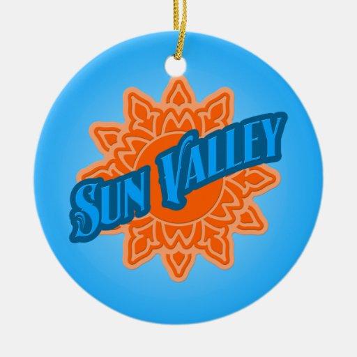 Sun Valley Sunburst Ornament