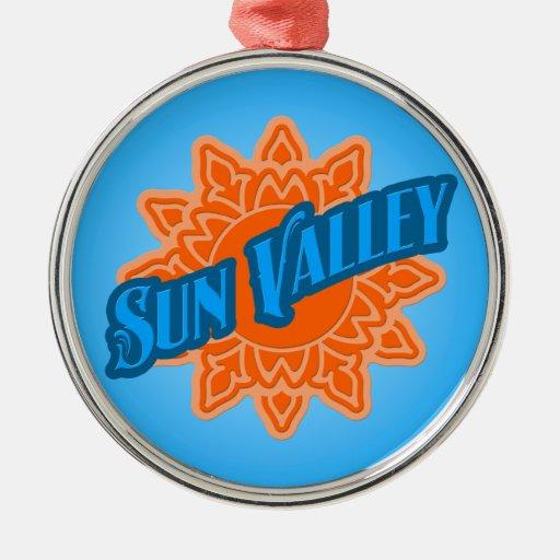 Sun Valley Sunburst Christmas Tree Ornament
