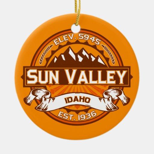 Sun Valley Tangerine Ornaments