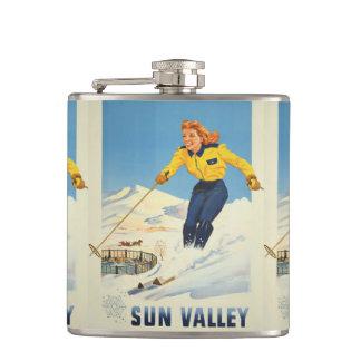 Sun Valley USA Vintage Travel flask