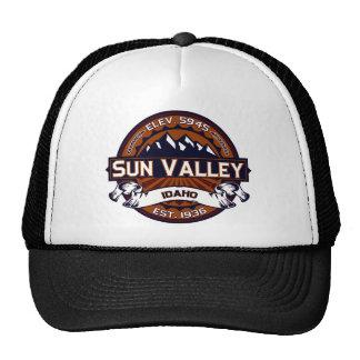 Sun Valley vibrante Gorros Bordados