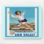 Sun Valley ~ Vintage Travel Mouse Pad