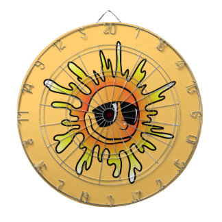 Sun Vector Dartboard