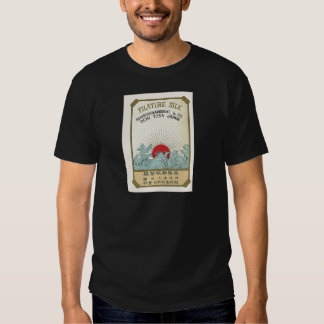 Sun  Vintage Japanese Silk Label Tee Shirt