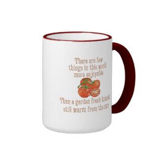 Sun Warmed Tomatoes Coffee Mug