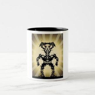 Sun Warrior #2 Two-Tone Coffee Mug