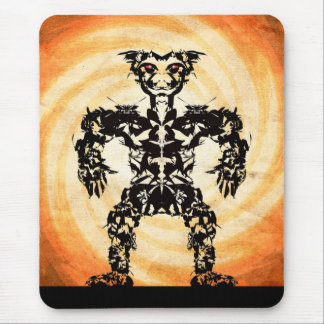 Sun Warrior #4 Mouse Pad