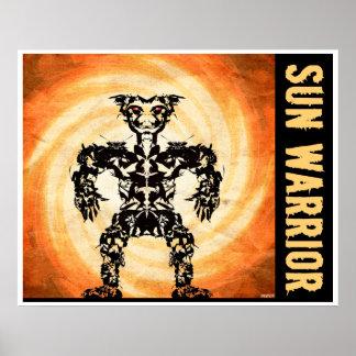 Sun Warrior #4 Posters