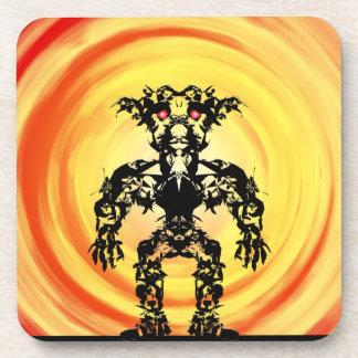 Sun Warrior #5 Beverage Coaster